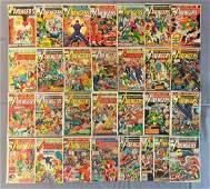 Group of 29 Marvel Comics The Avengers Comic Books