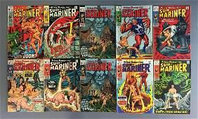 Group of 10 Marvel Comics SubMariner Comic Books