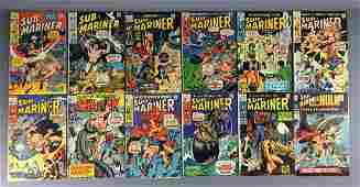 Group of 12 Marvel Comics SubMariner Comic Books