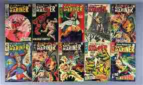 Group of 10 Marvel Comics SubMariner Comic Books