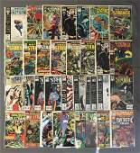 Group of 34 Marvel Comics Doctor Strange Comic Books