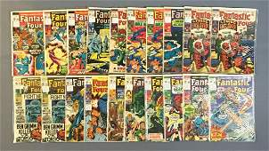 Group of 20 Marvel Comics Fantastic Four Comic Books