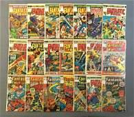 Group of 21 Marvel Comics Fantastic Four Comic Books