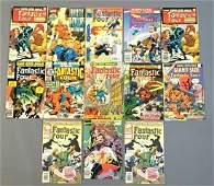 Group of 13 Marvel Comics Fantastic Four Comic Books