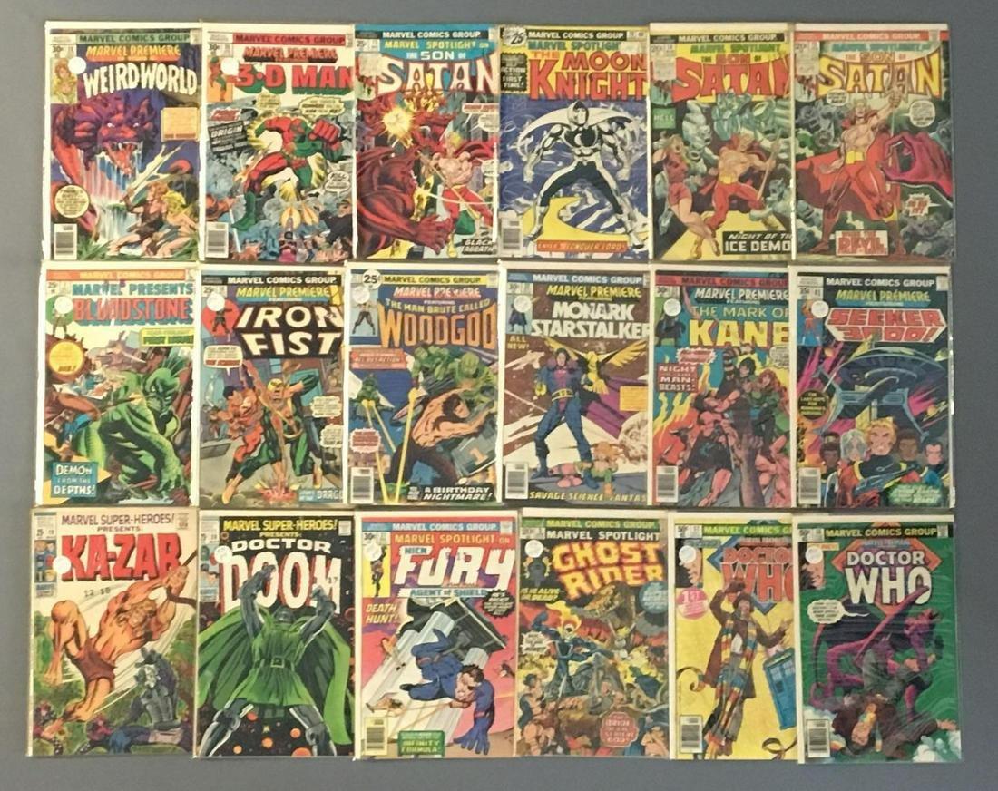 Group of 17 Marvel Comics Comic Books