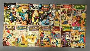 Group of 14 DC Comics Adventure Comic Books