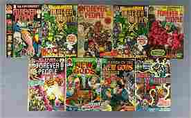Group of 9 DC Comics Comic Books