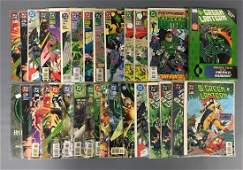 Group of 32 DC Comics Green Lantern Comic Books