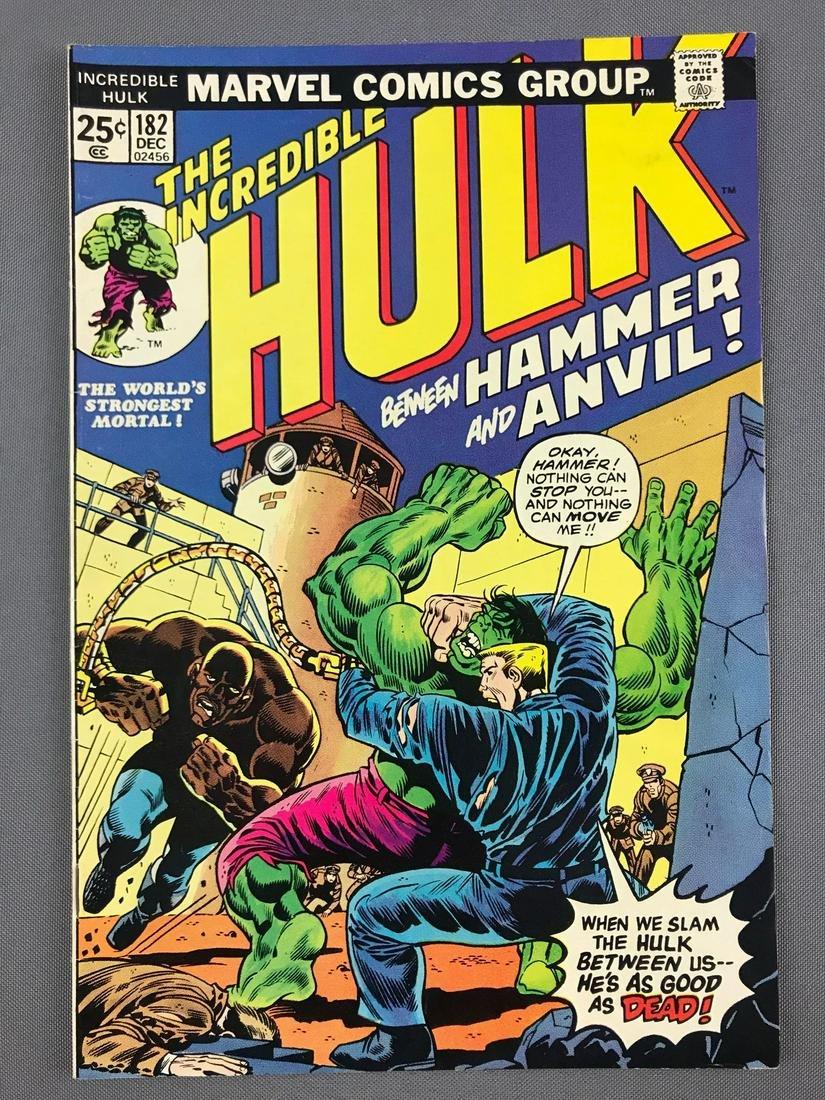 Marvel Comics The Incredible Hulk No. 182 Comic Book