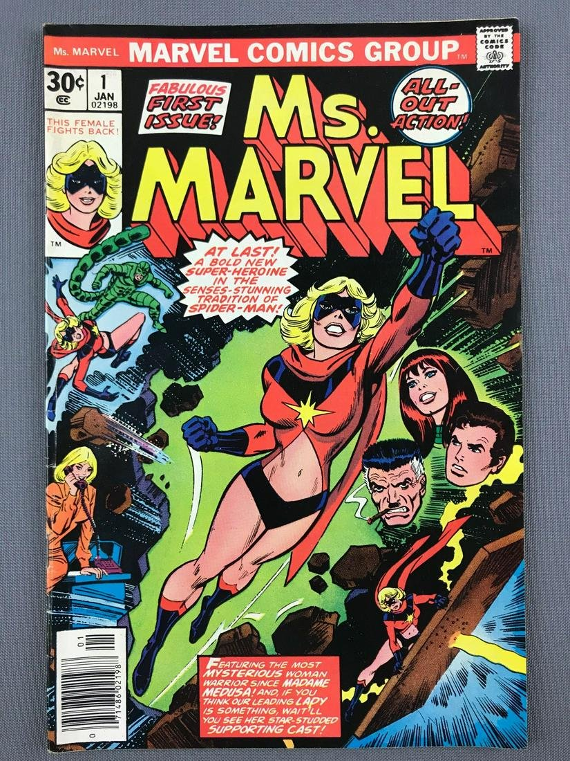 Marvel Comics Ms. Marvel No. 1 Comic Book