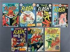 Group of 7 DC Comics Flash Comic Books