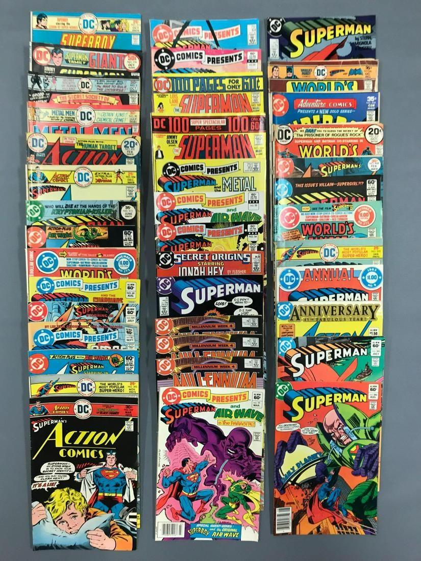Group of 40 DC Comic Books