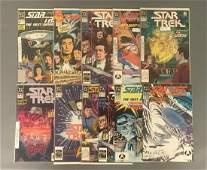 Group of 11 DC Comics Star Trek Comic Books