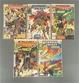 Group of 5 Marvel Comics Guardians Galaxy Comic Books