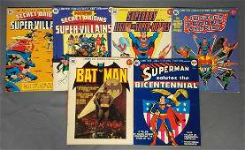 Group of 6 DC Superstars Large Comic Books