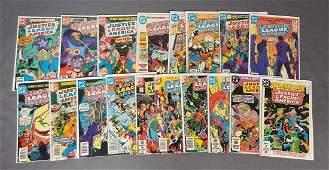Group of 18 DC Comic Books