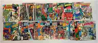 Group of 30 DC comic books