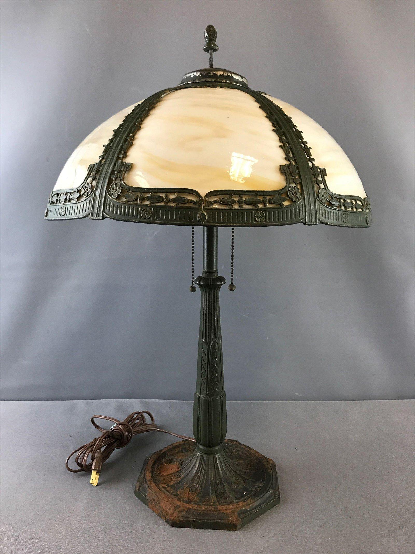 Antique Brass Table Lamp | Lighting