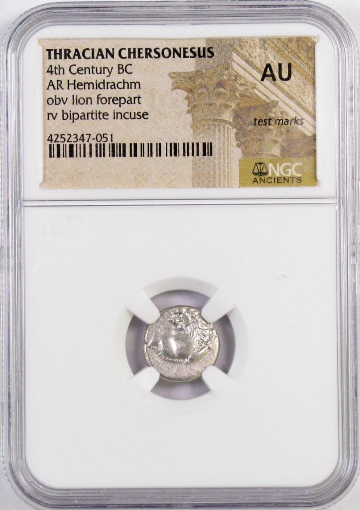Ancient: Thracian Chersonesus 4th Century B.C. (NGC)