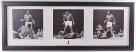 Muhammad Ali Vs Sonny Liston Framed Poster