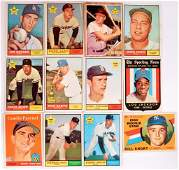 Group of 12 1960's Topps Baseball Cards