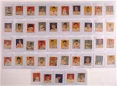 Group of 45 1949 Bowman Baseball Cards