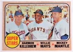 1968 Topps Super Stars Baseball Card
