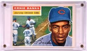 1956 Topps Chicago Cubs Ernie Banks Baseball Card