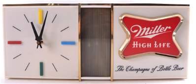 Vintage Miller High Life Light Up Advertising Beer