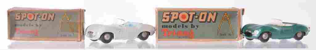 Group of 2 Triang SpotOn DieCast Vehicles with