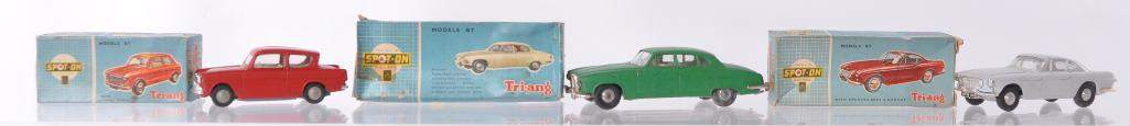 Group of 3 Triang SpotOn DieCast Vehicles with