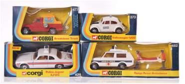 Group of 4 Corgi Toys DieCast Vehicles in Original