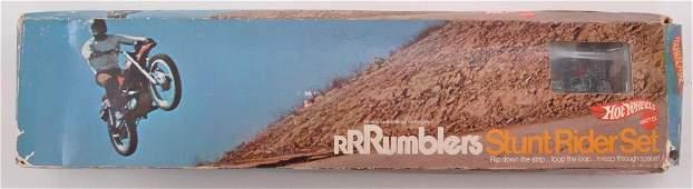 Hot Wheels Rumblers Stunt Rider Set in Original Box