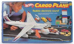 Hot Wheels Cargo Plane Playset