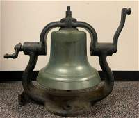 Antique Railroad Locomotive Bell