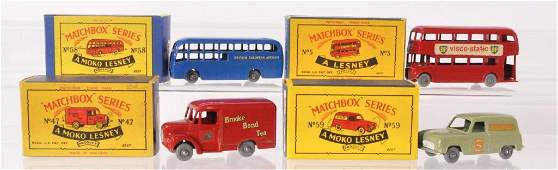 Group of 4 Matchbox DieCast Vehicles with Original