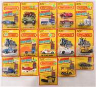 Group of 15 Matchbox DieCast Vehicles in Original