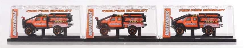 Group of 3 Matchbox Ford F350 Superlift Die-Cast Trucks