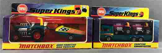 Group of 2 Matchbox Super Kings Die-Cast Vehicles in