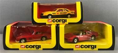 Group of 3 Corgi Toys DieCast Vehicles in Original