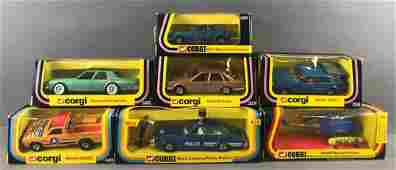 Group of 7 Corgi Toys DieCast Vehicles In Original