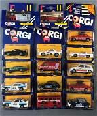 Group of 15 Corgi Toys DieCast Vehicles in Original