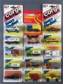 Group of 15 Corgi Toys Die-Cast Vehicles in Original