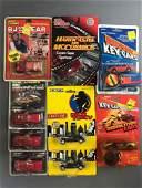 Group of 9 Die-Cast Vehicles in Original Packaging