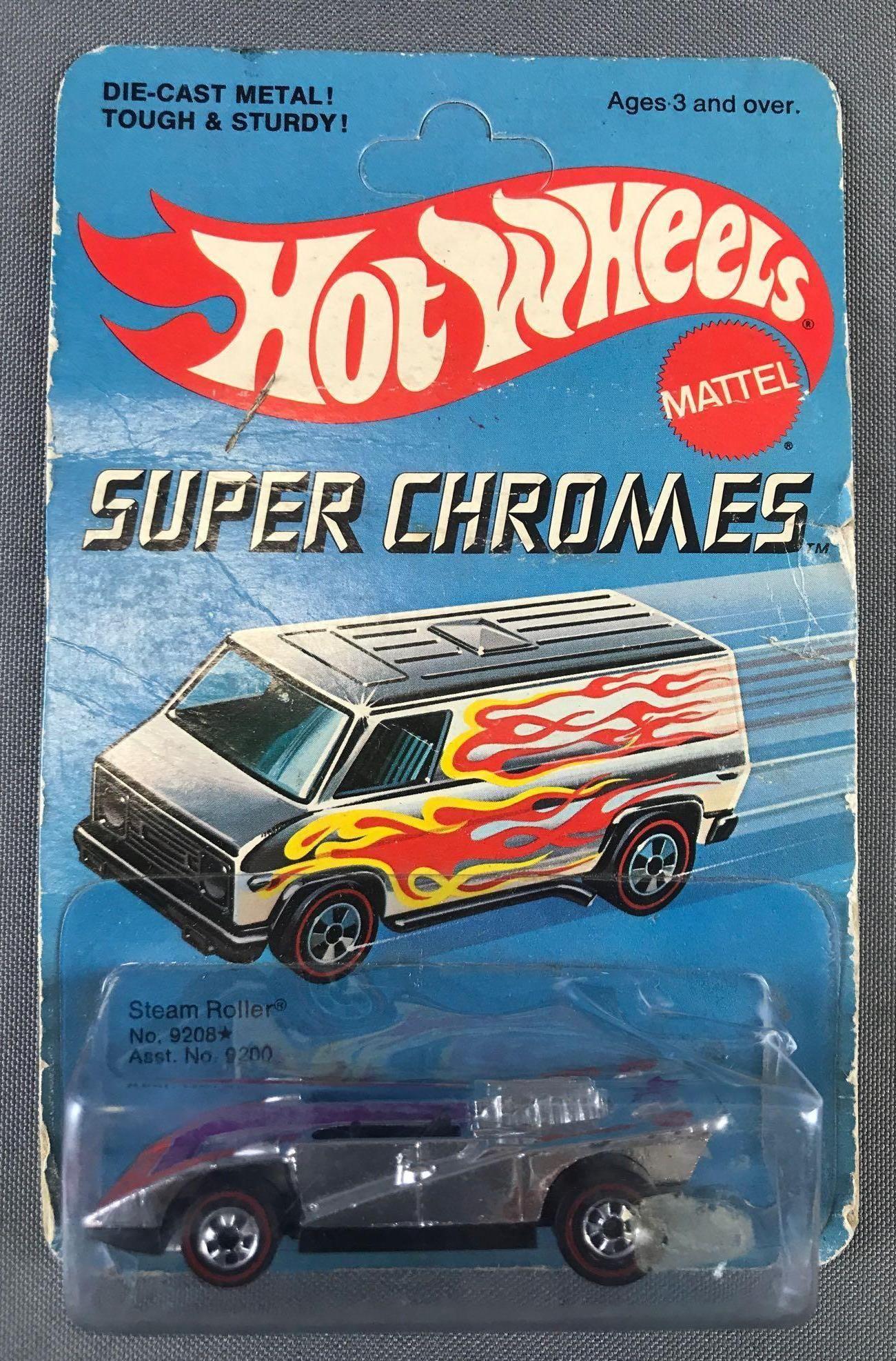 Hot Wheels Redline Super Chromes No. 9208 Steam Roller