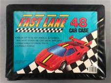 Fast Lane 48 Car Collector Case with 43 Die-Cast
