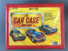 Deluxe 48 Car Collector Case with 18 Die-Cast Vehicles