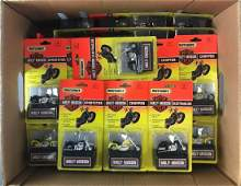 Group of 60 Matchbox Harley-Davidson Cycles Die-Cast