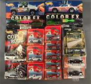 Group of 15 DieCast Vehicles in Original Packaging