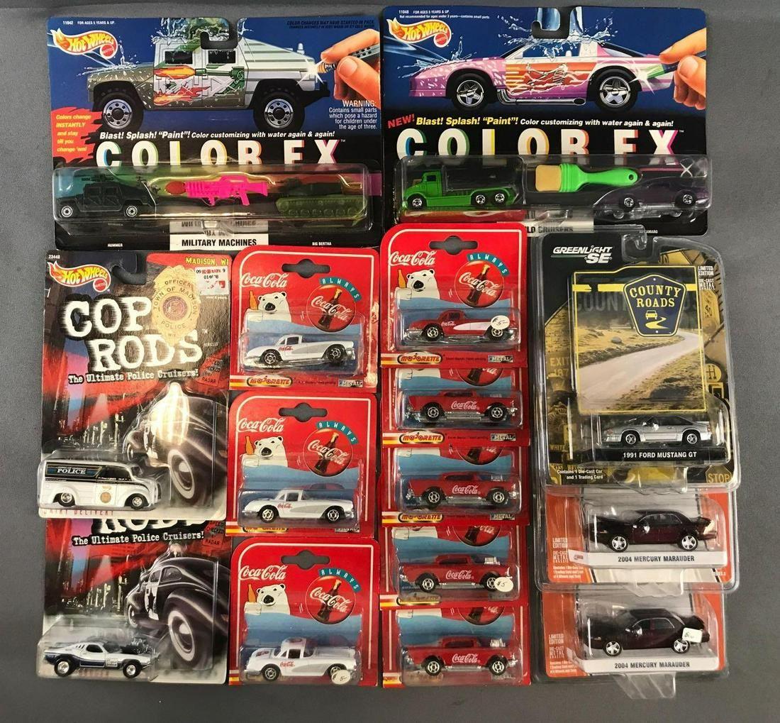 Group of 15 Die-Cast Vehicles in Original Packaging